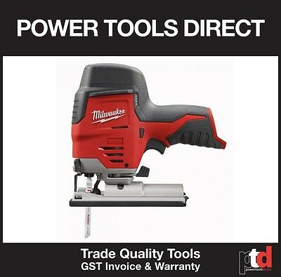 New Milwaukee 12V Cordless M12Js-0 Jigsaw Skin Tool Only - Gen Aust Stock