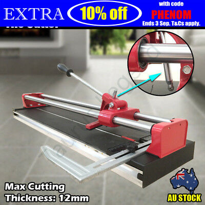 600mm Double Rail Bearing Manual Tile Cutter Replaceable Knife Porcelain Ceramic