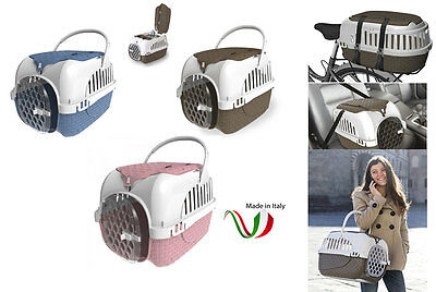 Trasportino per coniglio cane dog gatti gatto gabbia bama pet made in italy new