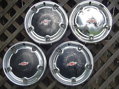 1967 1968 Chevrolet Chevy Pickup Truck Hubcaps Wheel Covers Hubcap Wheels Rims