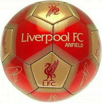 LIVERPOOL FC 2019/20 Official Gift Size 5 ADULT Ball Signature Football Red LFC