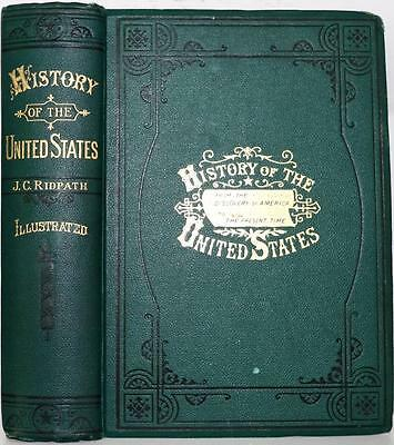 1883 A Popular History Of The United States Of America Revolution Civil War