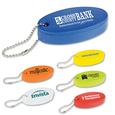 FLOATING KEY TAG / STRESS RELIEVERS - 250 qty. - Custom Printed with Your Logo