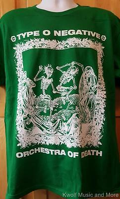 """TYPE O NEGATIVE T-Shirt """"Orchestra""""  Front and Back  M, L, XL,XXL Official NEW"""