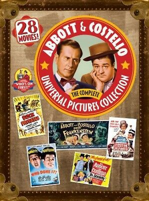 Abbott and Costello: The Complete Universal Pictures Collection [New DVD] Boxe