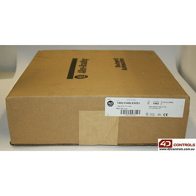 Allen Bradley 1492-CABLE025J Pre-wired cable for 1771-IAN - New Surplus Seale...