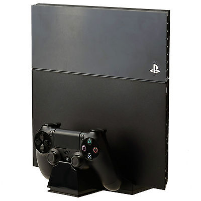 PS4 Console Vertical Refroidissement Support & Dual Manette Chargeur