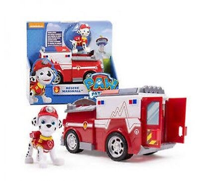 Paw Patrol Marshall's Fire Fightin' Truck Rescue Vehicle Toy Marshall Figure NEW
