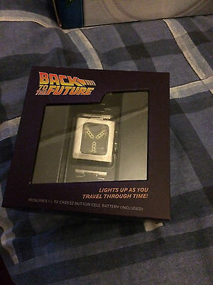 Back to the future  Flux Capacitor wrist watch