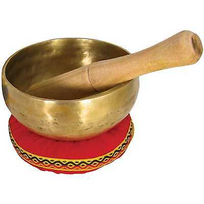 "Atlas AP-E500 Singing Bowl, 5"" (5 Inch) Brass - NEW UK STOCK, FREE UK P&P"