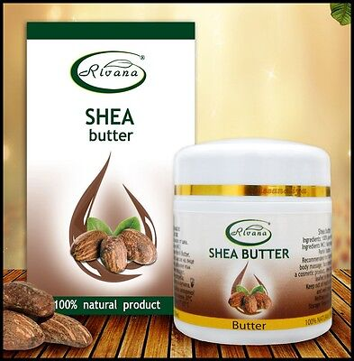 Shea butter - 100% pure oil product : natural face body moisturizer , 55 ml NEW