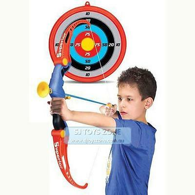 Kings Sport Toy Archery Bow And Arrow Set For Kids Fun Game W Arrows And Target