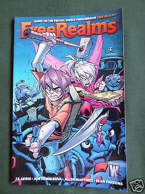 Free Realms - Graphic Novel- Softcover - Wildstorm  - Book 2