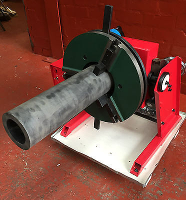 100 Kgs Welding Positioner. 100 - 140mm bore through hole with chuck. UK Seller.