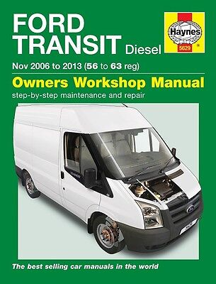 Ford Transit 2.2Tdci 2.4Tdci Diesel 2006 - 2013 (56 to 63) Haynes Manual 5629