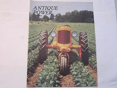Antique Power magazine Tractors Volume 1 No. 6 Sept Oct 1989 LOTS More Listed