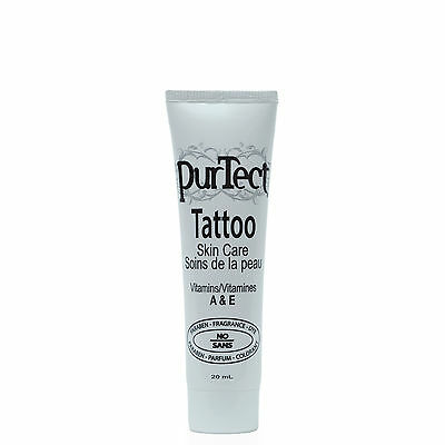 NEW PurTect Tattoo Topical Antiseptic Skin Ointment 0.67oz Medical Aftercare