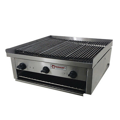 "Commercial Grill char broiler cheese melter Restaurant Propane 28"" x 28"""