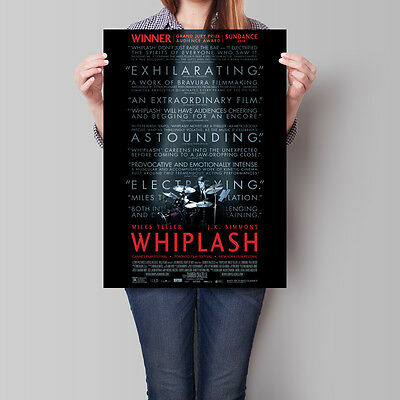 Whiplash Poster 2014 Movie Miles Teller J K Simmons A2 A3 A4