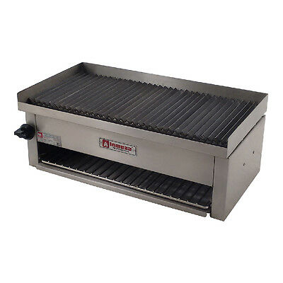 Commercial Gas Grill chicken wings breast meat char broiler hamburgers PROPANE
