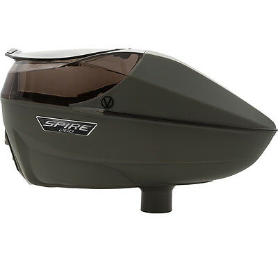 Virtue Spire 260 Electronic Paintball Loader - Tactical FGG (Forest Green Gray)