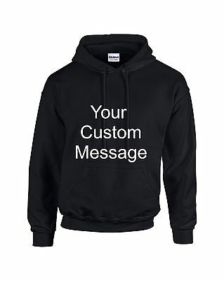 Custom Front Print Hoodie For Ladies, Men Sizes Sml to Big Mens 5XL Plus Size