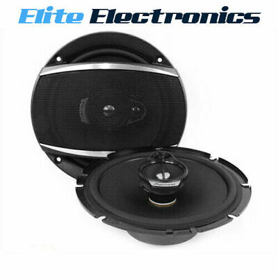 "Pioneer Ts-A1686S A-Series 6.5"" 16Cm 4-Way 350W Front Car Coaxial Speakers Audio"