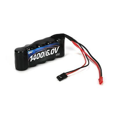 Losi LOSB9953 6V 1400mAh NiMH Receiver Flat Battery w/ JST/JR Connector