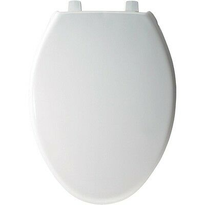 BEMIS STA-TITE Elongated Closed Front Toilet Seat in White 7800TDG000 New