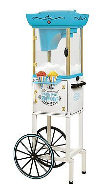 Nostalgia Electrics SCC399 48 Inch Tall Vintage Collection Snow Cone Cart New
