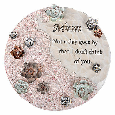 Mum Memorial Grave Stone Ornament Remembrance Special Tribute Verse Decoration