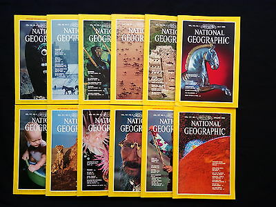 National Geographic Inglese Completo 1980 con inserti windsor castle  tibet