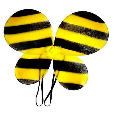 ** Bee Wings Childrens  Adult Fancy Dress New **  Bumble Bee