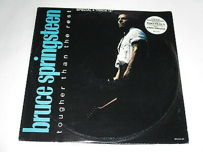 "Bruce Springsteen Tougher Than The Rest/ Roulette/Born to Vinyl 12"" EP UK Import"