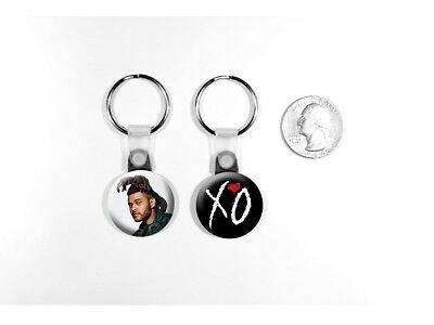 The Weeknd Echoes of Silence Can't Feel My Face Set of 2 Key Chains