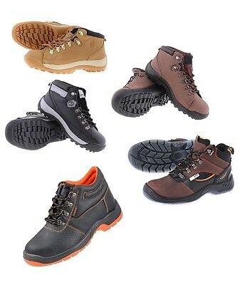 Mens Safety Work Steel Toe Cap Shoes Trainers Boots Ankle Size 40-46  New