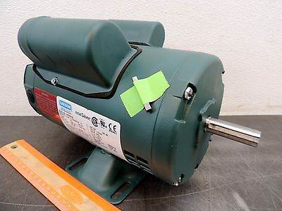 Leeson Electric Motor E100340.00 C4K34DH4A 3/4 HP 3450 Rpm 1-PH 115/230 Volt NEW