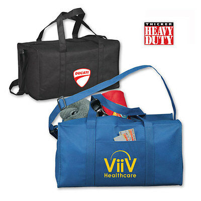 ATLAS POLY-AIR DUFFLE BAGS - 75 quantity - Custom Printed with Your Logo