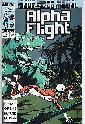 Marvel Comics Alpha Flight Annual #2 1987 VF