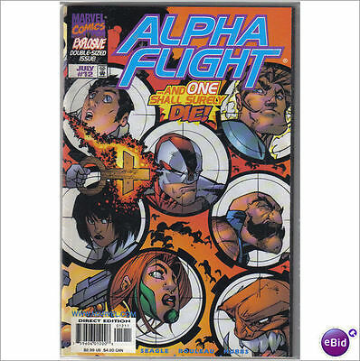Marvel Comics Alpha Flight Vol 2 #12 July 1998 Giant Size NM