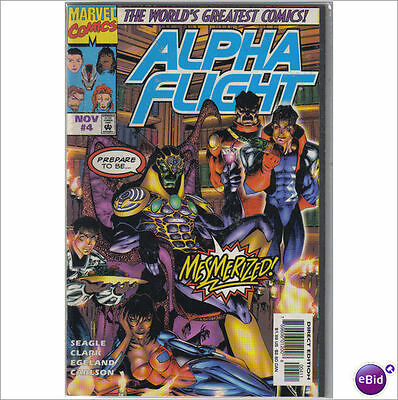 Marvel Comics Alpha Flight Vol 2 #4 November 1997 NM