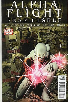 Marvel Comics Alpha Flight Vol 4 #1 August 2011 Fear Itself Vf+