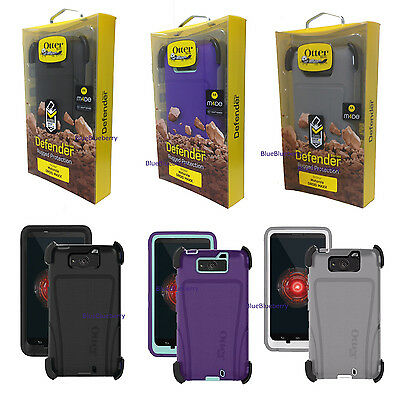 New Otterbox Defender Series Case & Holster Belt Clip for Motorola Droid Maxx