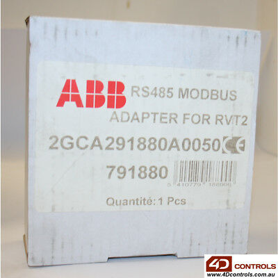 ABB 2GCA291880A0050 RS485 Modbus Adapter For RVT2 - New Surplus Open
