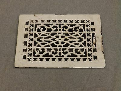 Antique Cast Iron Victorian Heat Grate Register Vent Old Vtg Hardware 622-16