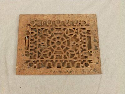 Antique Cast Iron Heat Grate Register Vent Old Vintage Hardware 624-16