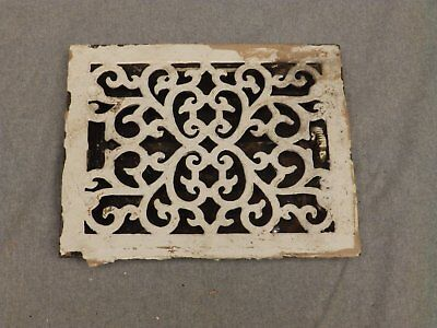 Antique Victorian Cast Iron Heat Grate Register Vent Old Vintage Hardware 627-16