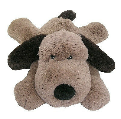 Cozy Plush Microwave Bedwarmer Heat Pack - Puppy (Brown) Wheat Hot / Cold Pack