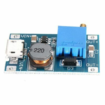 2V-28V DC MT3608 Micro-USB Step Up Boost Power Supply Voltage Regulator Module