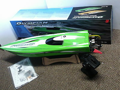 RC Thunder Tiger Olympian Extreme Brushless Powerboat Racing 5127